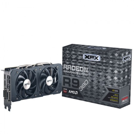 Placa de Video VGA XFX R9 380 4GB DDR5 Double Dissipation 256B 990MHZ  - foto principal 1