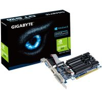 Placa de vídeo VGA GigaByte GeForce GT610 1024MB (1GB) DDR3 PCI-Express  - foto 1