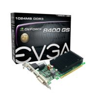 Placa de Vídeo VGA EVGA GeForce 8400GS 1GB DDR3 PCI-E 2.0 01G-P3-1303-KR
