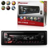 Cd Mp3 Player Pioneer Deh-x1980ub Automotivo Usb Aux Radio