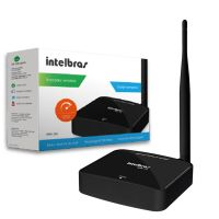 Roteador Wireless Intelbras N WRN150 150 Mbps compacto