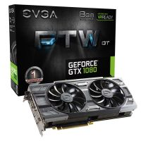 Placa De Video Evga Gtx1080 8gb Ftw Dt Acx3.0 D5 Pci-e Evga