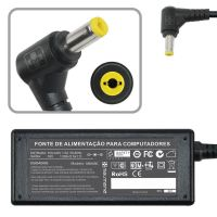 Fonte carregador notebook Acer, Dell 19V 1.58A – Plug. 5.5×1.7mm (480)