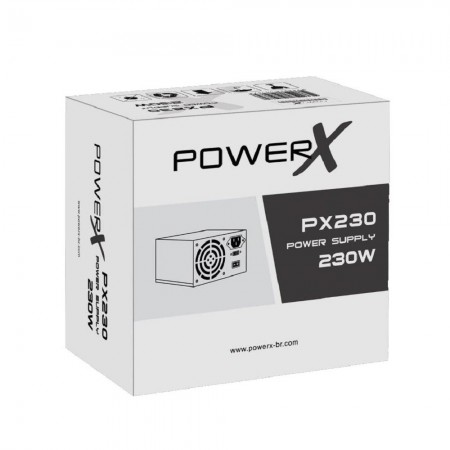 Fonte Atx Powerx Px230 230w Power Supply  - foto principal 3