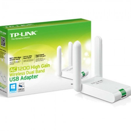 Tp-link Archer T4uh Ac1200 Dual Wifi Band Usb Adapter  - foto principal 1