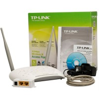 Repetidor Access Point Cliente 300mb Tp-link Tl-wa801nd
