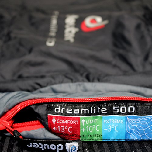 SACO DE DORMIR DEUTER +13°C A -3°C DREAM LITE 500 ...