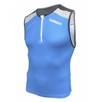 TOP TRIATHLON WOOM 140 BLUE MASCULINO