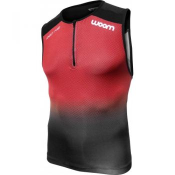 TOP TRIATHLON WOOM 140 RED MASCULINO