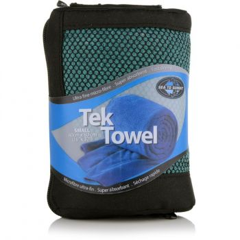 TOALHA TEK TOWEL SEA TO SUMMIT PEQUENA VERDE