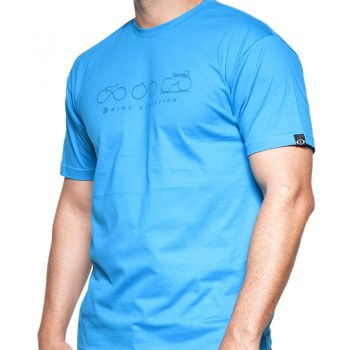 CAMISETA  PITON BIKE EVOLUTION AZUL  - foto 6