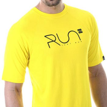 CAMISETA  PITON RUN DRY FIT AMARELA