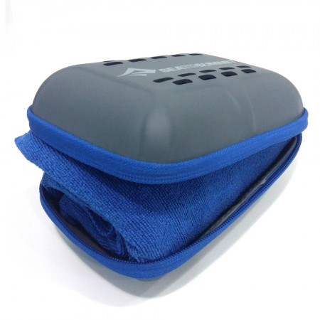 TOALHA TEK TOWEL SEA TO SUMMIT MEDIUM AZUL  - foto principal 5
