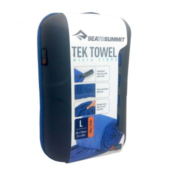 TOALHA TEK TOWEL SEA TO SUMMIT LARGE AZUL