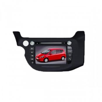 DVD + GPS + PIP + Tela de 7'' HD TFT + Touchscreen + Bluetooth + TV - Honda New Fit - 08+