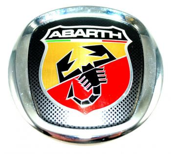 Emblema Badge Frontal Abarth Fiat Punto T-Jet