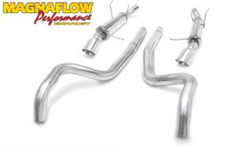 Escapamento CatBack Magnaflow Competition Series Ford Mustang GT V8 5.0 - 2011 a 2012