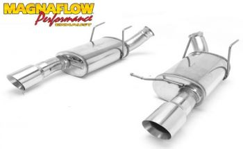 Escapamento Axle-Back Street Series Ford Mustang GT V8 5.0 - 2011
