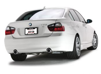Escapamento Catback Borla AGRESSIVE 2.5'' Inox BMW 335i 3.0 V6 Bi Turbo Sedan 4P - 2007 a 2010