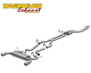 Escapamento Catback Magnaflow Inox Touring Series BMW 335i 3.0 V6 Bi Turbo Sedan 4P - 2011 a 2012
