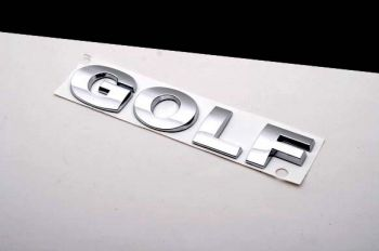 Emblema Badge Traseiro VW Golf