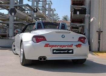 Escapamento Axle-Back Supersprint Power Loop BMW Z4 2.0i - 2005 a 2009