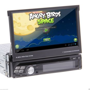 DVD + GPS + Tela de 7'' TFT HD + Android 4.0 + 3G + WiFi - RDS + Ipod + USB + Touchscreen + Bluetooth + TV