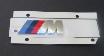 Emblema Badge Traseiro M Motorsport BMW M3 M5 M6