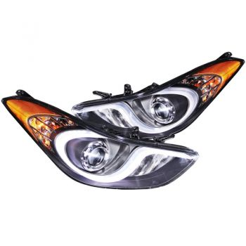 Farol LED DRL Dayline Angel Eyes Hyundai Elantra - 2011+