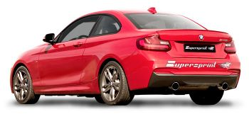 Escapamento TurboBack SuperSprint Inox BMW F22 M235i 3.0 - 2014+