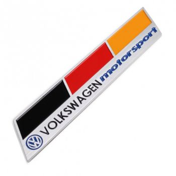 Emblema Badge VW MotorSport Alemanha