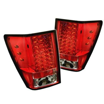 Lanternas Red LED Jeep Grand Cherokee - 2005 a 2007