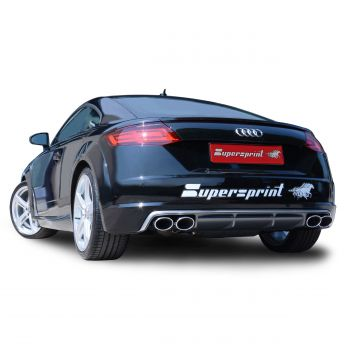 Escapamento Catback Supersprint Audi TT 8S MK3 2.0T - 2015+