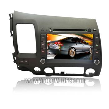 DVD + GPS + PIP + RDS + iPOD + Tela de 8'' + Touchscreen + Bluetooth + TV Honda New Civic - 2006+