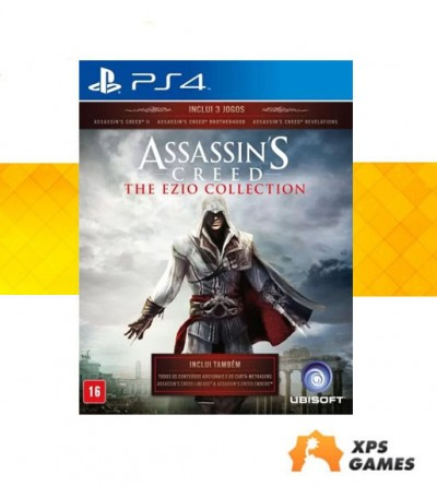 Jogo Assassins Creed - The Ezio Collection - PS4  - foto principal 1
