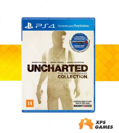 Jogo Uncharted: The Nathan Drake Collection - PS4  - foto principal 1