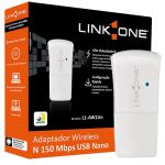 Adaptador Wireless USB L1-AW1Un Link one