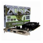 Placa De Video Zogis Geforce Gt210 1gb Ddr2 64bits