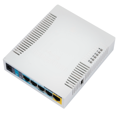 ROUTERBOARD 951Ui-2HnD with 600Mhz CPU, 128MB RAM, 5xLAN, built-in 2.4Ghz 802b/g/n 2x2 two chain wireless with integrated antennas  - foto principal 1
