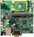 RouterBOARD 411 with 300MHz Atheros CPU, 32MB RAM, 1 LAN, 1 miniPCI, RouterOS L3