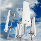 ANTENA PAINEL SETORIAL 2.4GHZ 17DBI 90º HORIZONTAL - MM-2417S90H  - AQUARIO