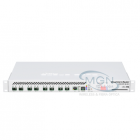 Cloud Router Switch 125-24G-1S-RM with Atheros AR9344 CPU, 128MB RAM, 24xGigabit LAN, 1xSFP, RouterOS L5, LCD panel, 1U rackmount case, PSU