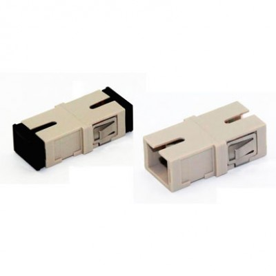 ADAPTADOR F.O PAINEL MM SIMPLEX LC/LC UPC - BEGE