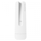 OmniTIK 5 ac with 2 x 7.5dBi integrated 5GHz Omni antennas, High Gain Dual Chain 802.11an/ac wireless, 720MHz CPU, 128MB RAM, 5xGigabit LAN, POE, PSU, pole mount, RouterOS L4