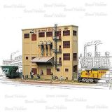 Centennial Mills Inc. - Background Buildings - Kit para Montar - Somente Fachada - Medidas: 254 x 50 mm - WAL-3160