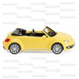 Volkswagen The New Beetle Cabrio Amarelo - WIK-2801
