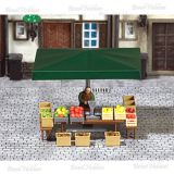 Barraca de Feira - Frutas e Vegetais - BUS-7706