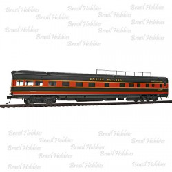 Carro de Passageiros 85 PésP-S Coulee Serie 6-4-1 Observation Lounge Great Northern Empire Builder - WAL-9049  - foto principal 1