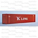 Escala N - Container Walthers 40 Pés Hi-Cube K-Line - WAL-8803