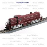Locomotiva Walthers Alco RS-2 Rock Island #454 - Engrenagens Helicoidal - DCC Ready (DC) - WAL-9025